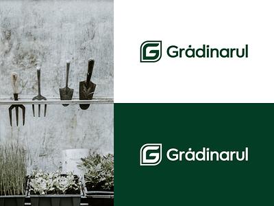 Gradinarul | Logo gardening garden supply florist gardener brand logo graphic  design design