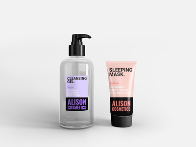 """Alison Cosmetics"" Packaging"
