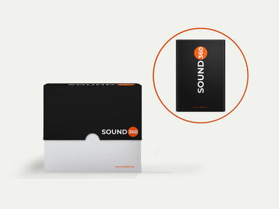 Sound 360 Package package design packaging stereo hardware speaker music sound mock-up brand brand design brand identity branding logocore vector logo graphic  design design adobe illustrator