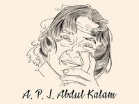 A.P.J Abdul Kalam Inspiration Poster