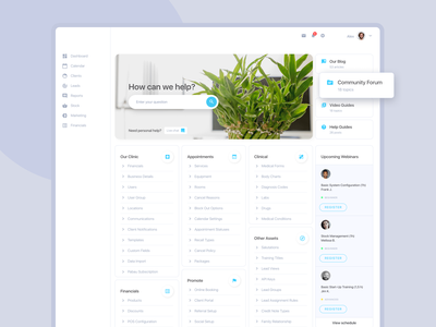 Dashboard design | 🍀 Healthcare platform dashboard ui web dashboard ui