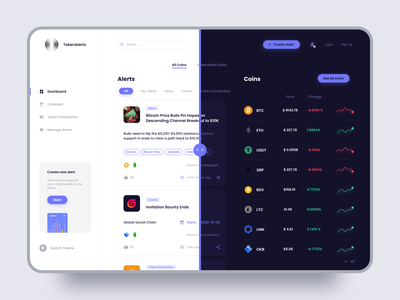 Cryptocurrency UX | 🌒  Black & White redesign bitcoin ui design crypto web