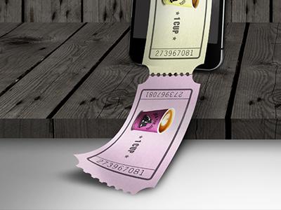 Ticket iphone joe the juice photoshop voucher ticket