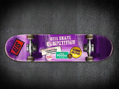 CPH Girl Skate Competition skate girlskate alis competition skateboard photoshop