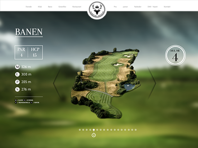 Rungsted Golfklub Website website golf webdesign