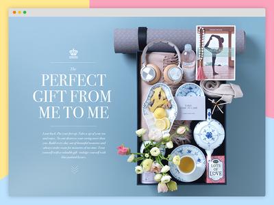 Royal Copenhagen Campaign site moments website gifts blue colors dinnerware copenhagen royal