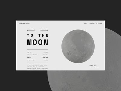 The Galaxies Project 3d brand design website web design graphic design web typography concept design branding