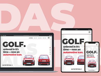 classic-car-concept web ui  ux design concept branding