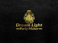 Event Management Logo [Dream Light Party Maker]