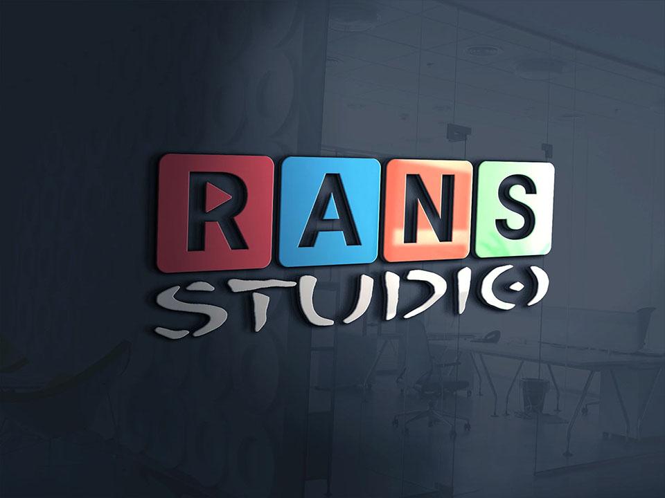 Logo Design [RANS STUDIO] 3d logo design square logo studio youtube banner youtube logo logo deisgn logo branding