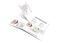 Folded Business Card