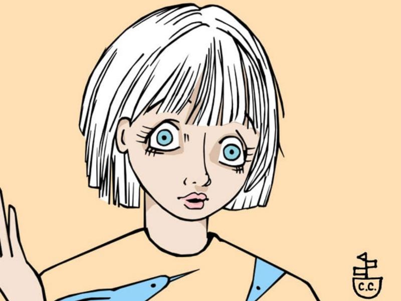 Another pretty girl comicbook comic artists digital sketchbook character design character development