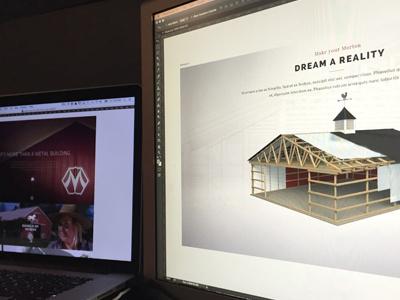 Morton Builders responsive ui  ux design