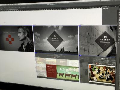 Agency Site responsive ui  ux design