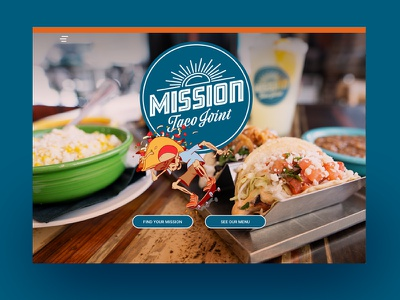 Mission Taco Joint ui design responsive digital branding