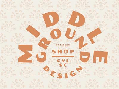 Type Lock Up logo typography branding orange logo white cream badge design badge logo type pairing type lockup badges typogaphy poller type orange