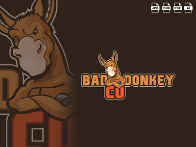 Donkey Mascot Logo Design illustration design vector illustrator donkey images doneky photo doneky app icon donkey cartoon donkey gamnig logo donkey icon donkey vector mascot logo donkey mascot donkey donkey mascot logo donkey mascot donkey kong donkeykong donkey