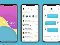 Messaging app Ui Design