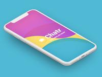 Messaging app design UI