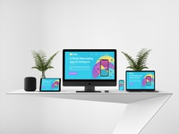 Web Landing Page Design UI Design
