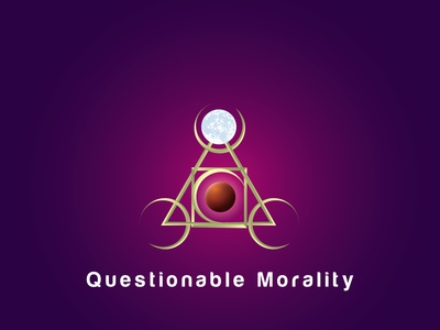 Questionable Morality Logo Design