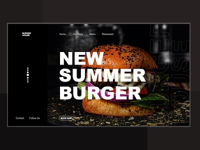 Burger UI Concept adobe adobexd userinterface user interface design graphics graphicdesigncentral graphicdesigner graphicdesign webdesign ux logo design art board interfacedesign weblayout uidesigner ui uiux uidesign art