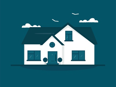 Home sweet home vectorart illustrators shading colours vector illustrator art illustration art flat design