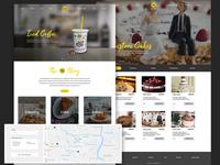 Website Design for a Bakery
