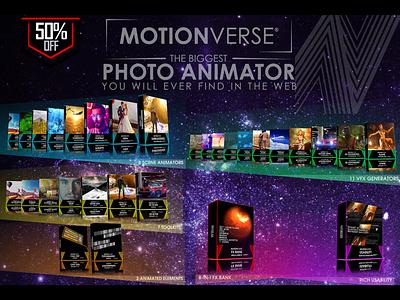 MotionVerse ─ 3D Photo Animator + VFX Suite tutorial 3d depth after effects visual design motionverse photo animator photo animation photo effect 2d to 3d