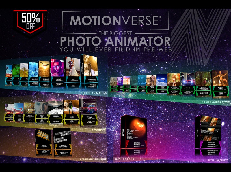 MotionVerse ─ 3D Photo Animator + VFX Suite tutorial 3d depth after effects visual design motionverse photo animator photo animation photo effect 2d to 3d