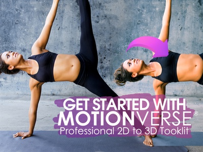 Getting Started With MotionVerse Pro v2 (Tutorial) 3d projection tutorial motionverse parallax camera projection 3d animation 2d to 3d after effects photo animation
