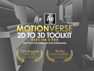 MotionVerse Pro v2 │ All New Features │Now Available envato 3d projection after effects tutorial photo effect motionverse parallax photo animation 2d to 3d 3d animation