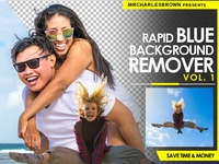Rapid Blue Background Remover