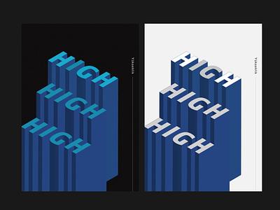 Hıgh / Yüksek poster design