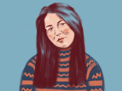 Tanya illustration portrait