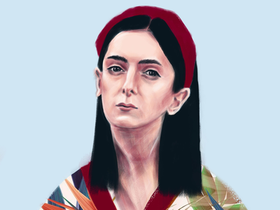 portrait illustration art digital art