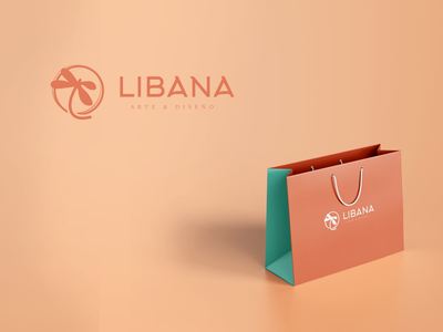 Libana | Logo Redesign brand bag crafts graphic design mockup concept redesign rebranding logotype identity logo design branding