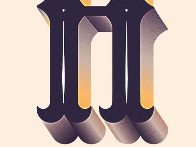 Typography Experimentation type typography maan h