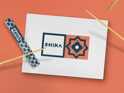SHIKA Street Food Project street food project logo branding portugal porto maan shika design