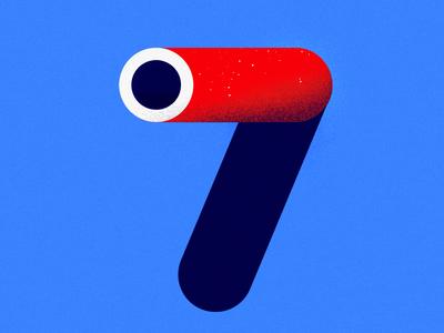7 — 36 Days of Type 36daysoftype typography type illustration maan