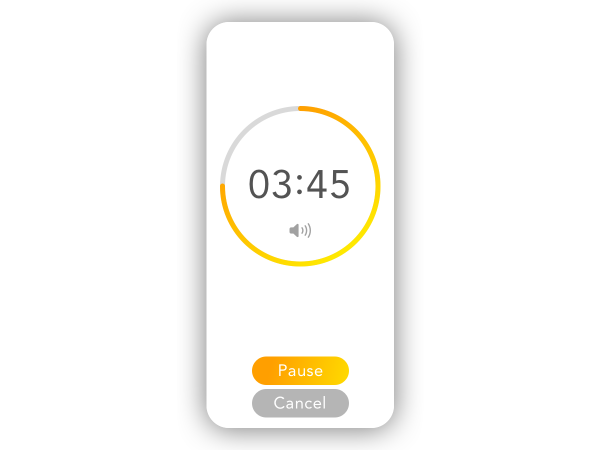 Daily UI #014 - Countdown Timer countdown timer countdown timer 014 app ux ui design daily ui dailyui daily 100 challenge