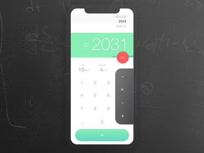 Daily UI - Calculator #004