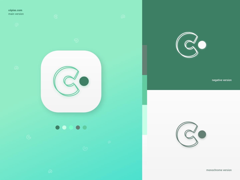 Daily UI - App Icon #005 app app icons uidesign green app icon landing page interfacedesign interface desktop design daily ui 005 daily ui adobe xd