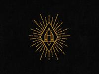 Alchemy Bottle Shop Monogram Symbol
