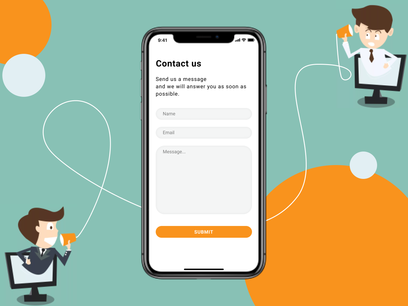 Contact Us - Daily UI #028 contact page contact us contact form contact ui daily challenge design daily 100