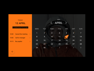 Calendar - Daily UI #038 daily challenge design daily 100