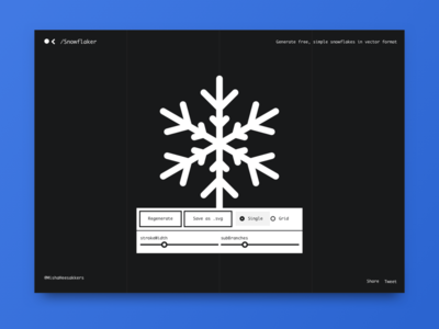 ❄️ Snowflaker (New side project)