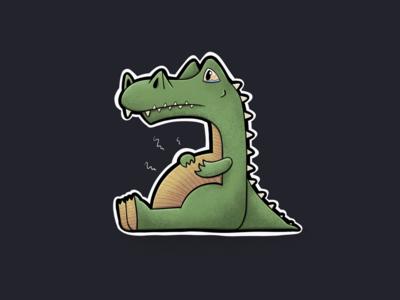 Sitting Animal Series: Croc