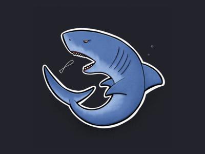 Sitting Animal Series: Shark