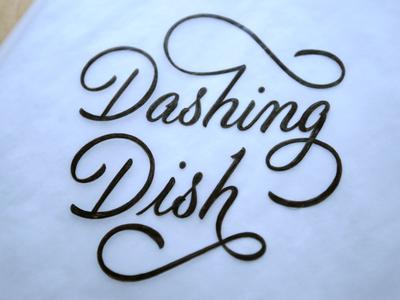Dashing Dish Script